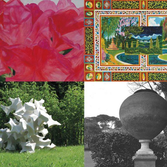 Gartenkunst.Kunstgarten