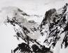 Michael Blank, Von Da, 2014, Tusche auf Papier, 50 x 65 cm