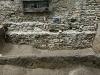 BDA Grabung 2004, Osttrakt des Schlosses, Westprofil von Schnitt 3